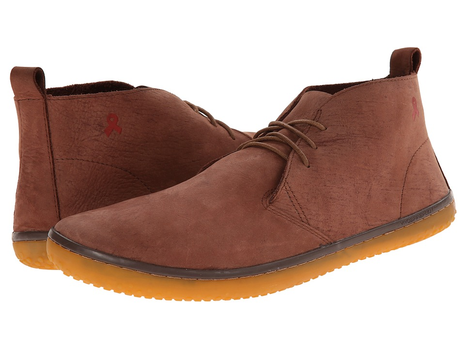 Vivobarefoot - SOFA Gobi (Tan Kudu Leather) Men's Lace-up Boots