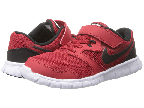 Nike Kids - Flex Experience 3 (Little Kid) (Gym Red/White/Black) Boys Shoes