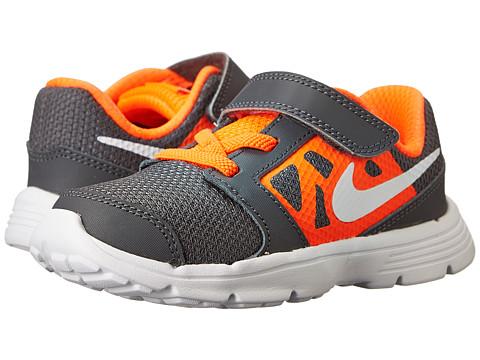 Nike Kids - Downshifter 6 (Infant/Toddler) (Dark Grey/Hyper Crimson/Black/White) Boys Shoes