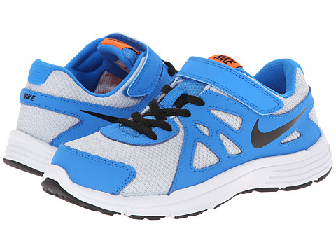 Nike Kids - Revolution 2 (Little Kid) (Pure Platinum/Photo Blue/White/Black) Boys Shoes