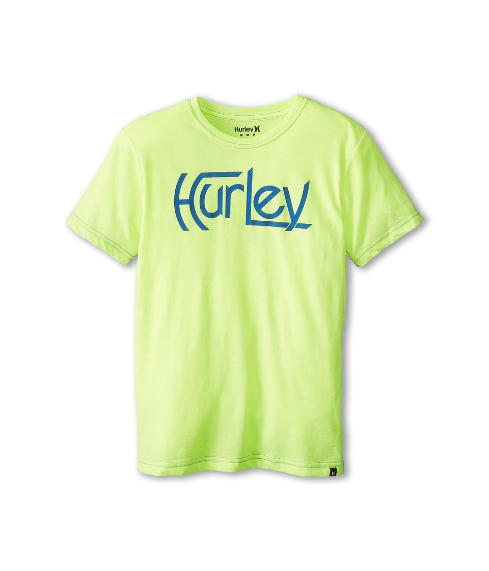 Hurley Kids Original S/S Tee Boys T Shirt (Yellow)