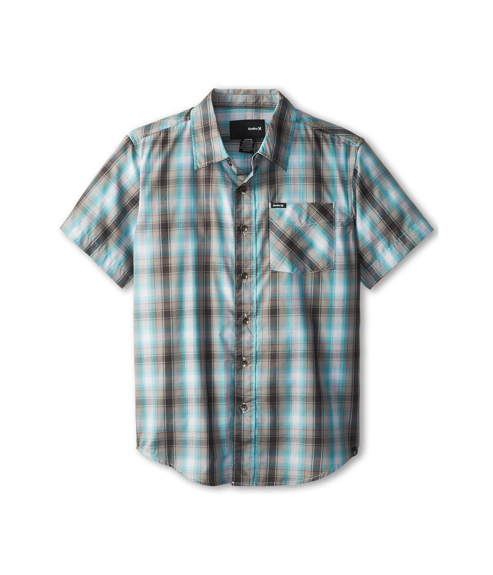 Hurley Kids Dalton S/S Woven Boys Short Sleeve Button Up (Multi)
