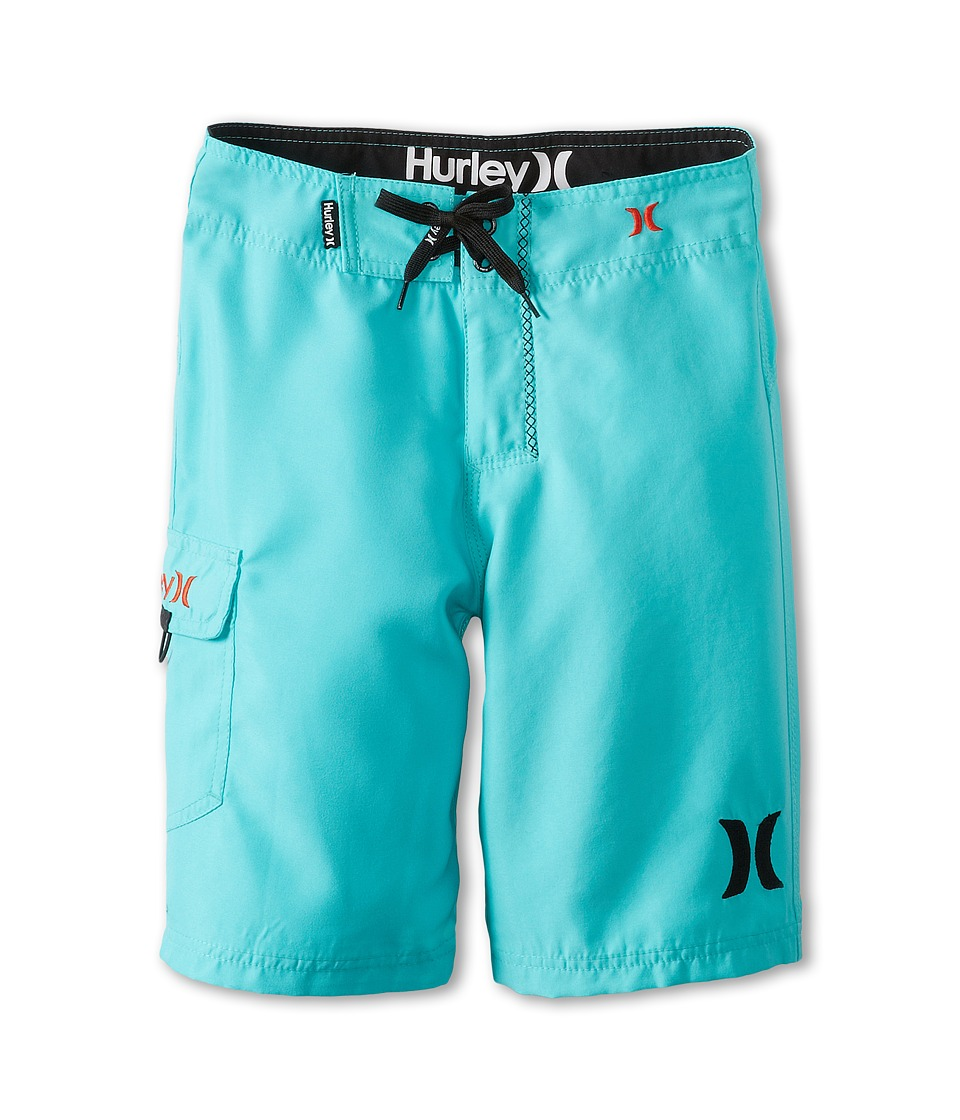 Hurley Kids One Only Boardshort Boys Swimwear (Blue)