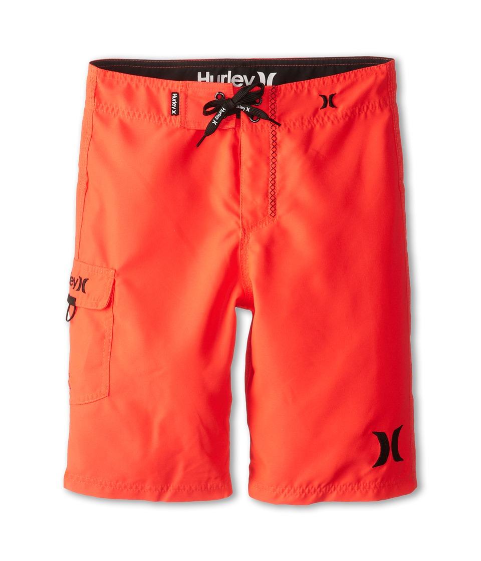 Hurley Kids One Only Boardshort Boys Swimwear (Red)
