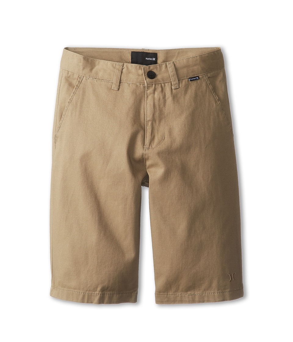 Hurley Kids - One Only Twill Short (Big Kids) (Sandstorm) Boy's Shorts