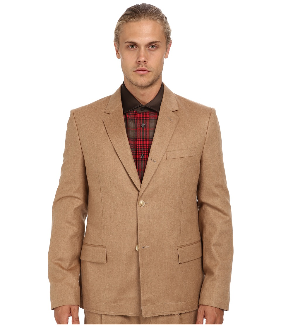 Marc Jacobs - Runway Soft Shoulder Blazer (Camel) Men's Jacket