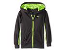 Nike Kids Dri-FIT Lightweight Full-Zip Hoodie (Toddler) (Anthracite)