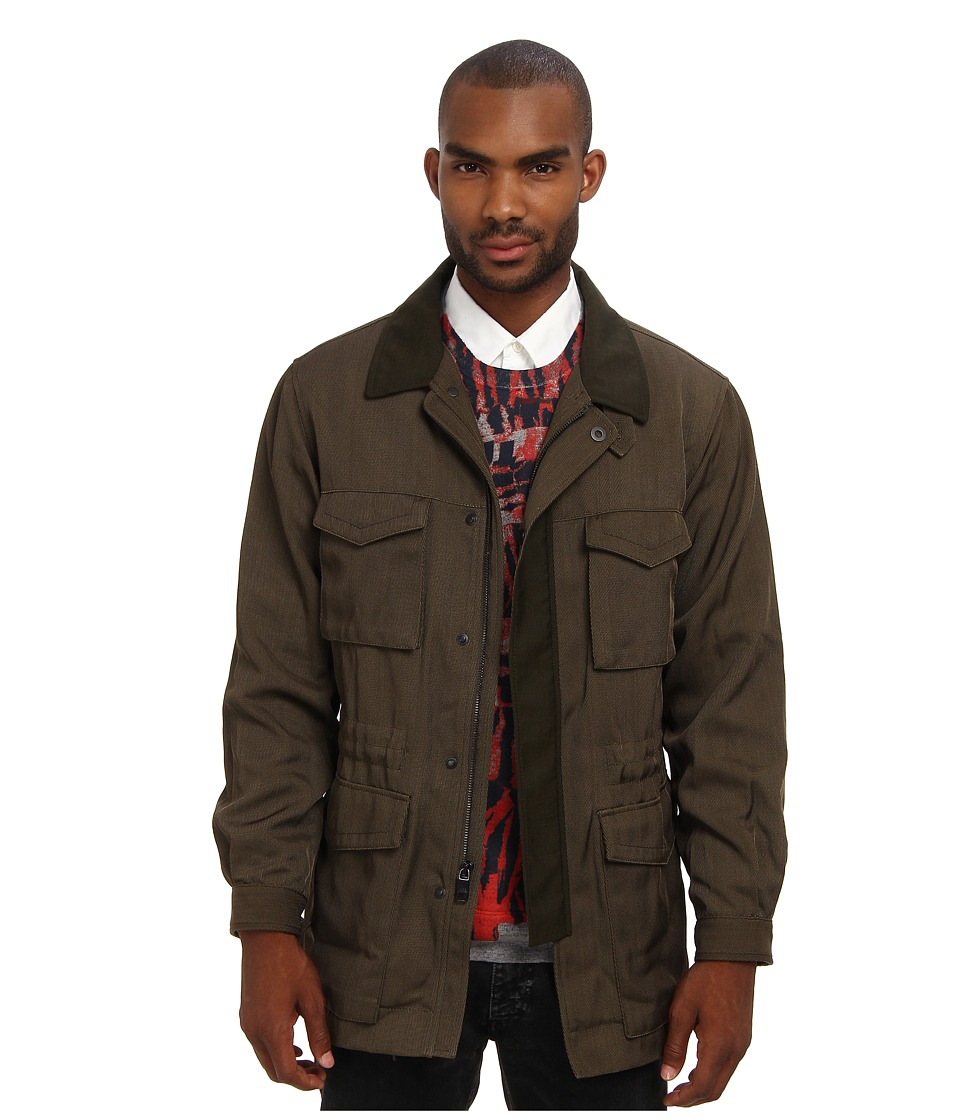 Marc Jacobs - Runway Cargo Coat (Green) Men's Coat
