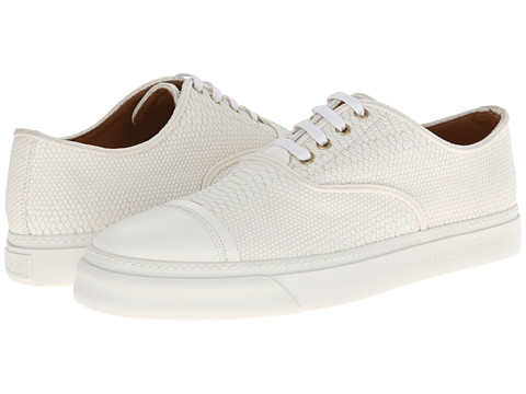 Marc Jacobs - Runway Slip On Trainer (White) Men's Shoes