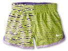 Nike Kids Printed Dash Short (Little Kid) (Volt Ice)