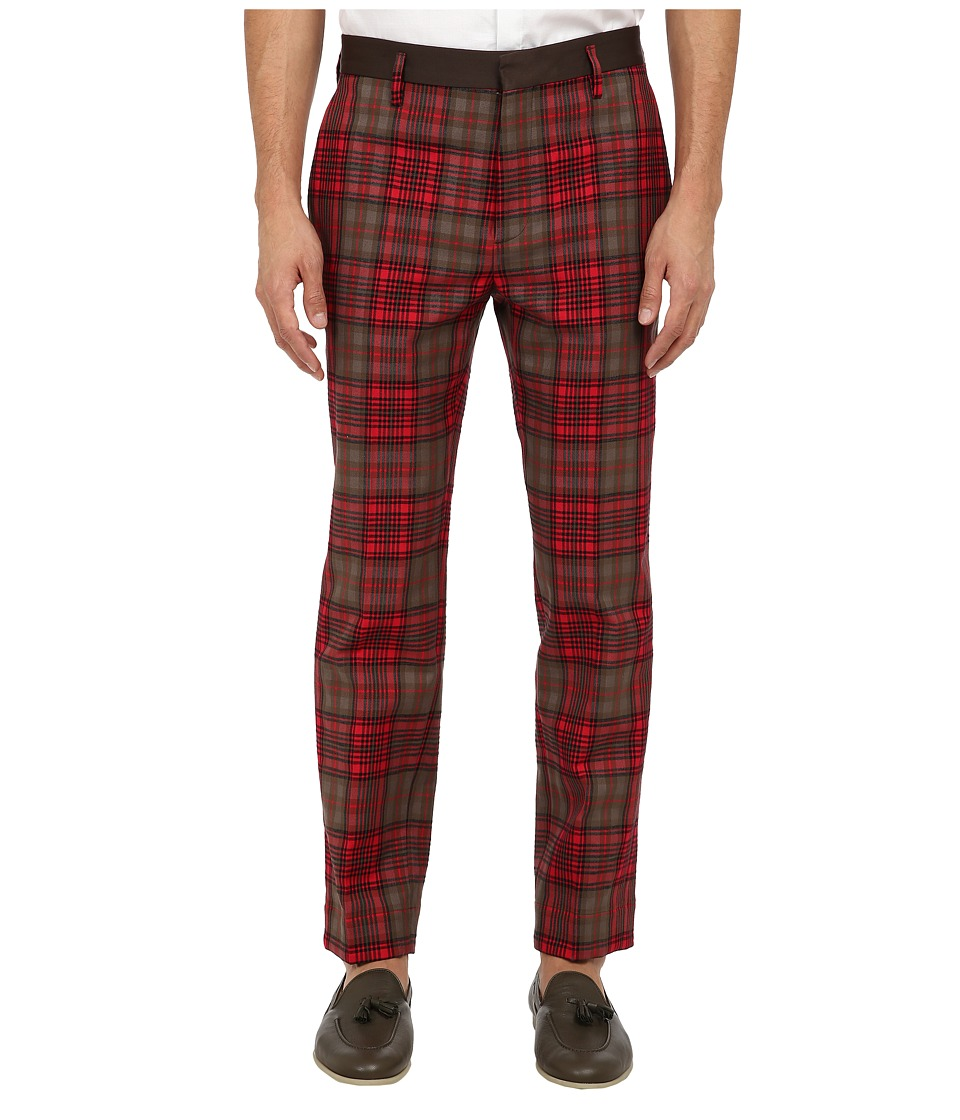 Marc Jacobs - Runway Check Pant (Red Check) Men