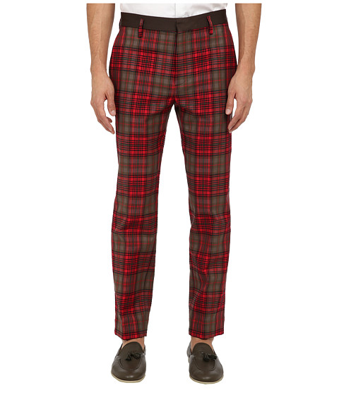 Marc Jacobs - Runway Check Pant (Red Check) Men's Casual Pants