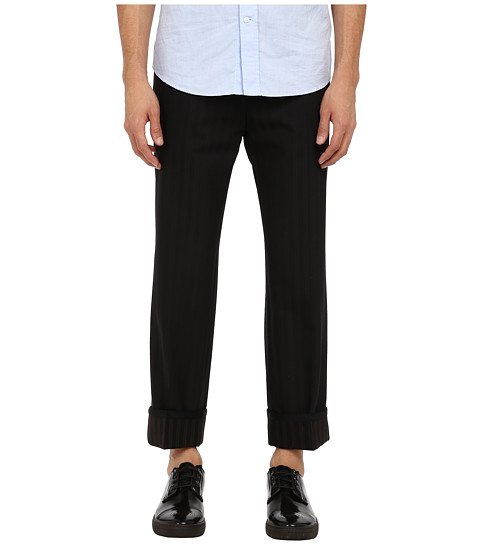 Marc Jacobs - Runway Striped Trouser (Mink Stripe) Men's Casual Pants