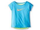 Nike Kids Dri-FIT Swoosh Fashion Tee (Toddler) (Vivid Blue)