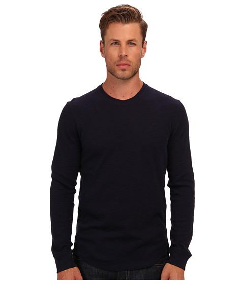 Vince - Slub Thermal Crew (Coastal) Men's T Shirt