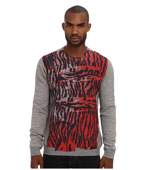 Marc Jacobs - All Over Print Sweatshirt (Mink) Men