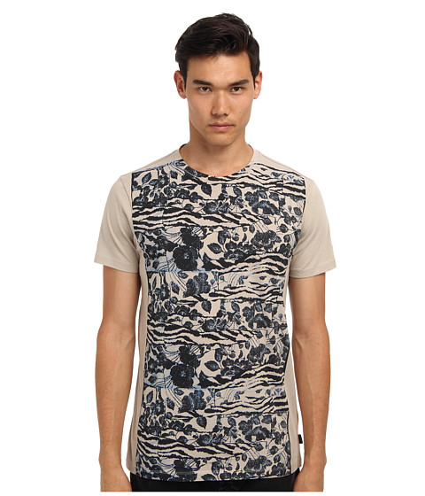 Marc Jacobs - Mink Print Tee (Mink) Men's Short Sleeve Pullover