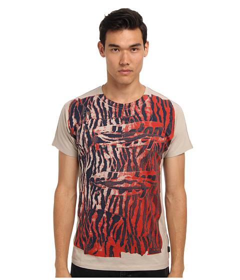 Marc Jacobs - Don't Stop Tee (Mink) Men's Short Sleeve Pullover