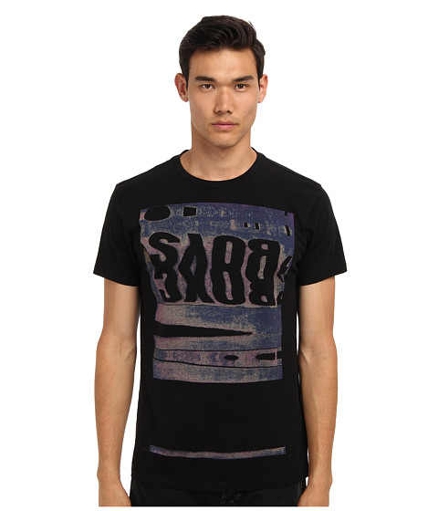 Marc Jacobs - Boys S/S Tee (Black) Men's Short Sleeve Pullover