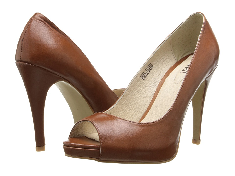Fitzwell - Teresa (Cognac Leather) High Heels