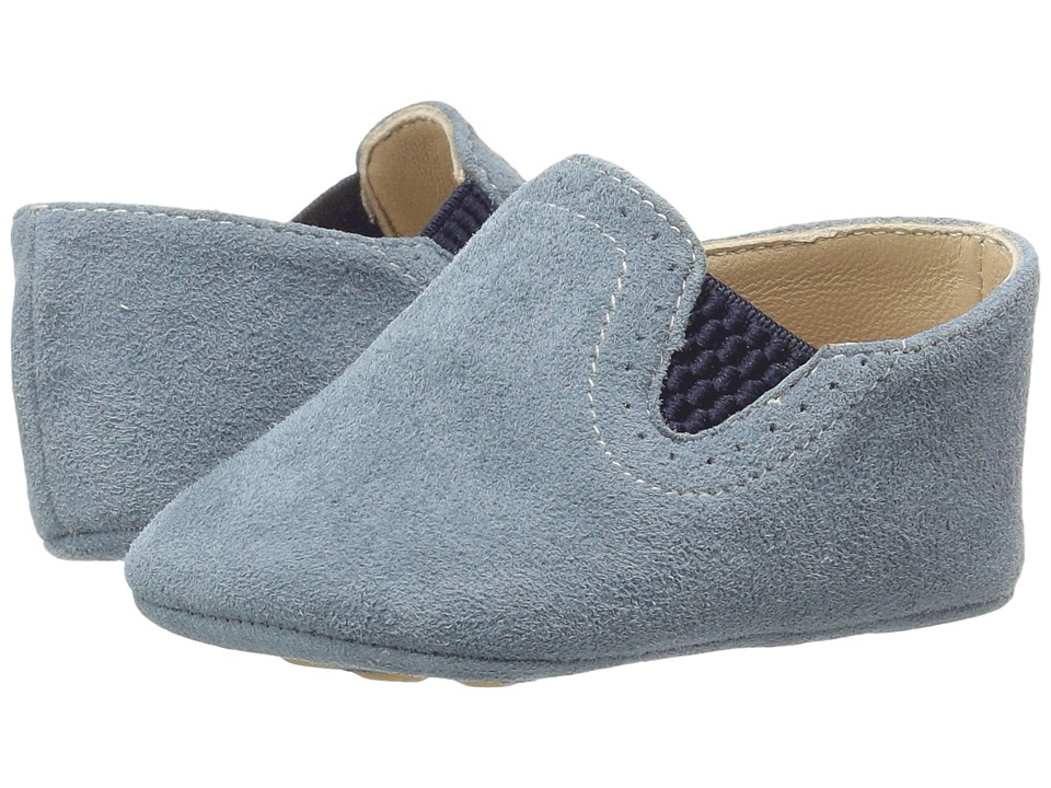 Elephantito - Baby Sleepers (Infant/Toddler) (Grey) Girls Shoes