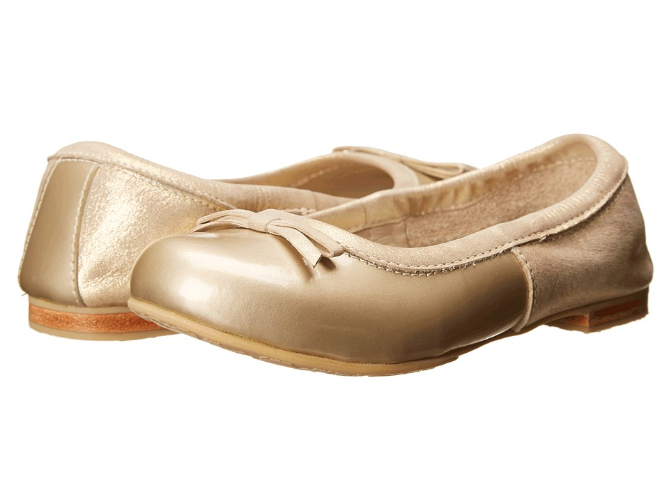Elephantito - Milano Flats (Toddler/Little Kid/Big Kid) (Metallic Gold) Girls Shoes