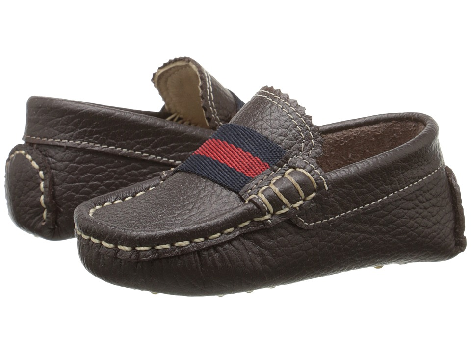 Elephantito Club Loafer (Toddler) (Brown) Boys Shoes