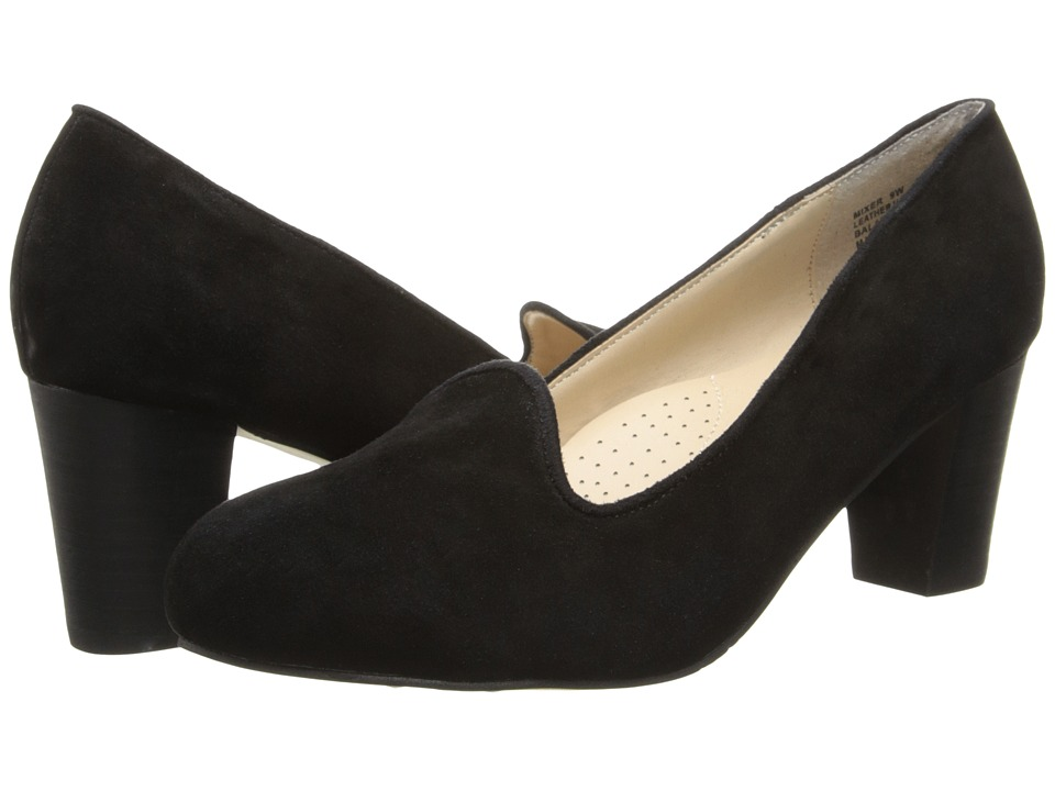 Fitzwell - Mixer (Black Kid Suede) High Heels