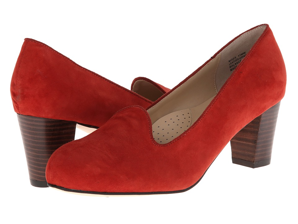 Fitzwell - Mixer (Red Kid Suede) High Heels