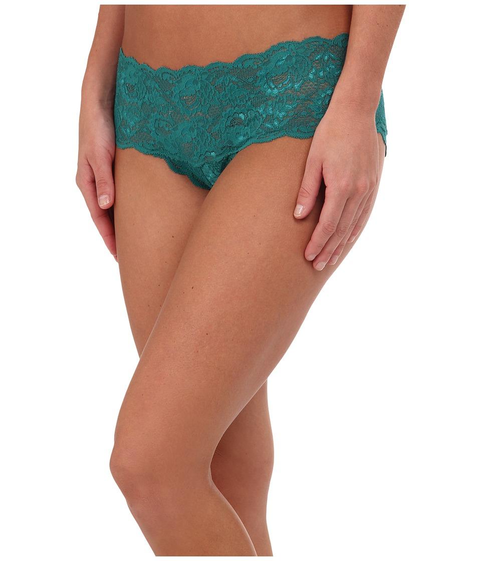 Cosabella - Never Say Never Hottie Lowrider Hotpants (Emerald Green) Women's Underwear