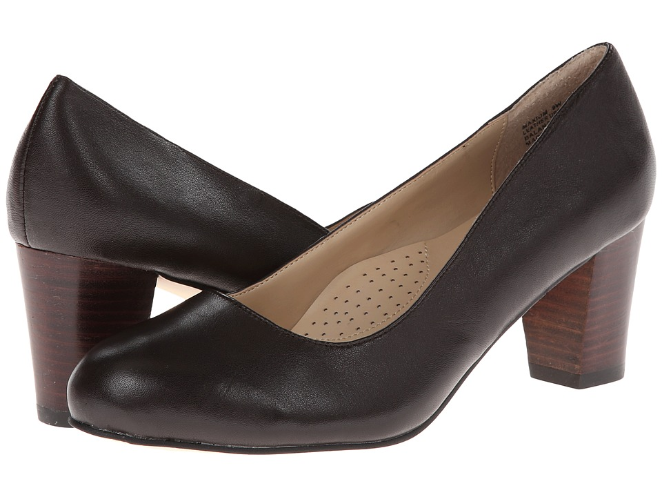 Fitzwell - Maxium (Brown Napa Leather) High Heels
