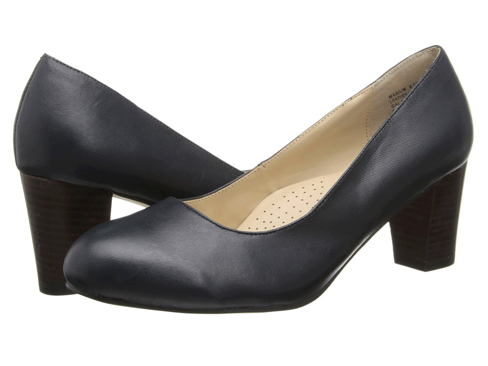 Fitzwell - Maxium (Navy Napa Leather) High Heels