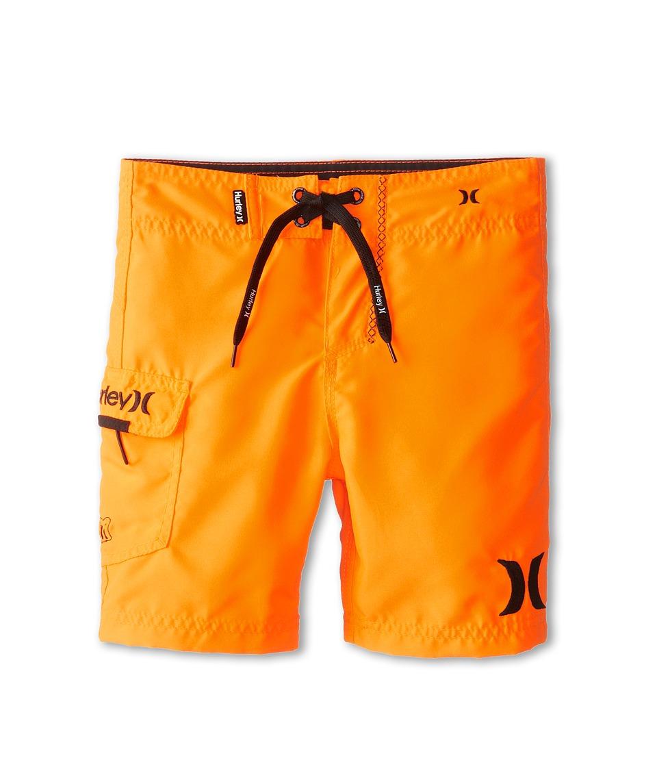 Hurley Kids One Only Boardshort Boys Swimwear (Orange)