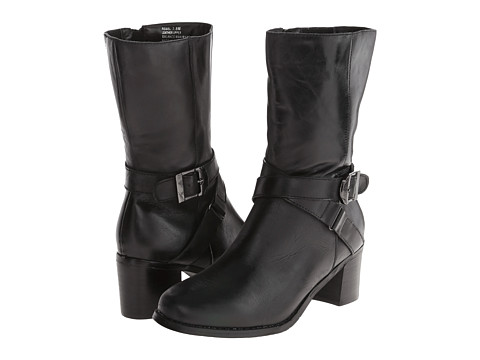 Fitzwell - Rebel (Black Burnished Leather) Women