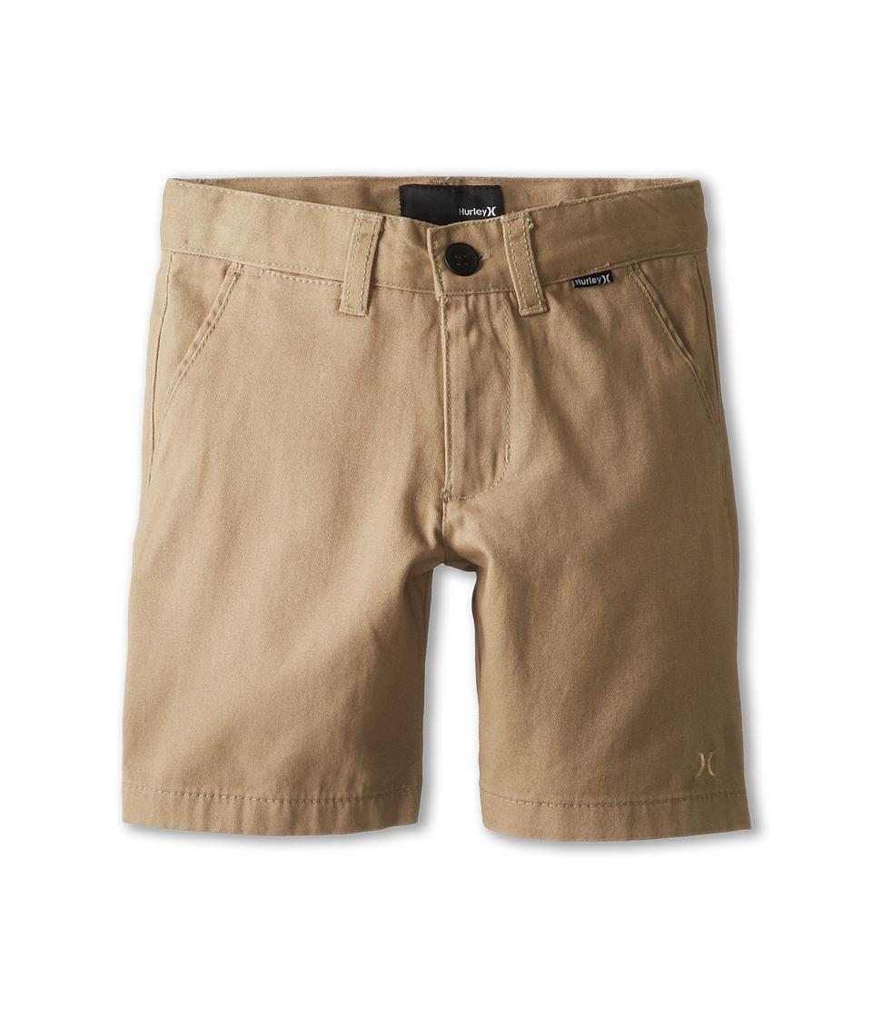 Hurley Kids - One Only Twill Short (Little Kids) (Sandstorm) Boy's Shorts