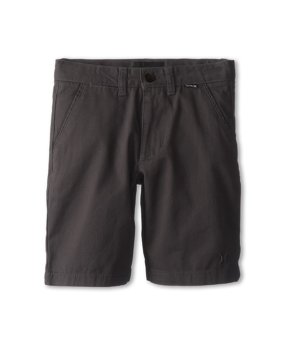 Hurley Kids - One Only Twill Short (Little Kids) (Coal) Boy's Shorts