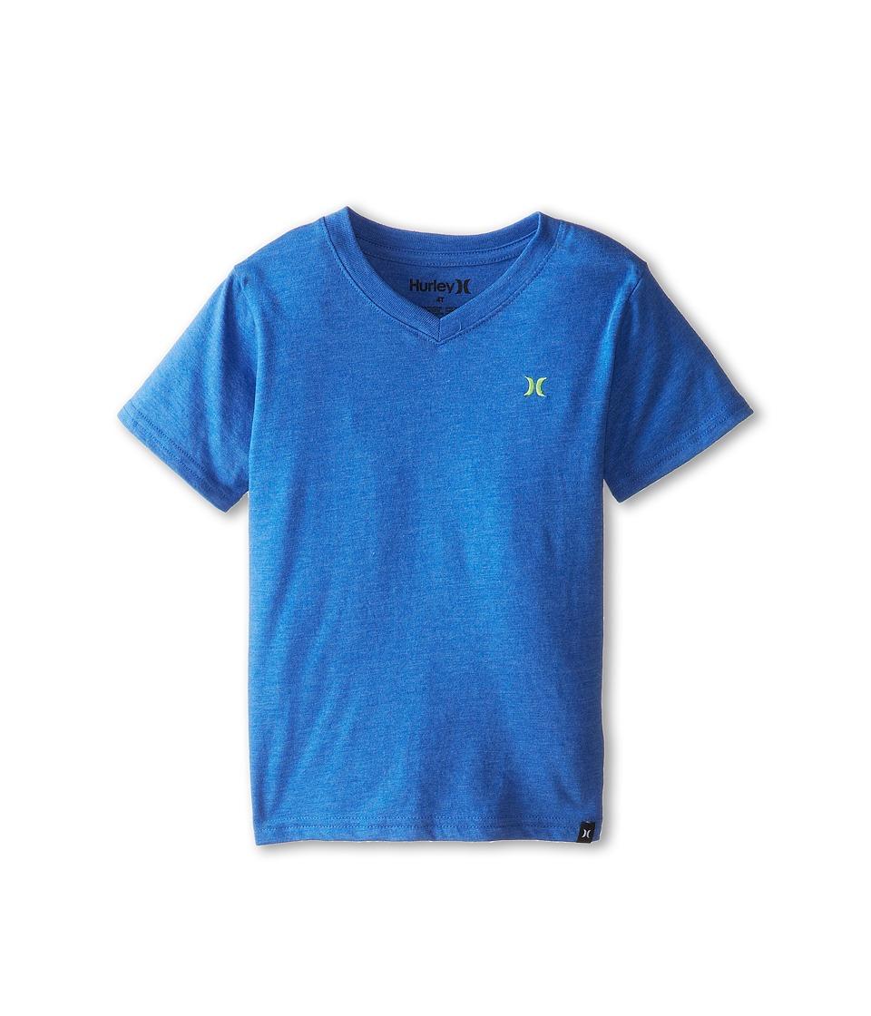Hurley Kids Icon Premium Heather Tee Boys T Shirt (Blue)