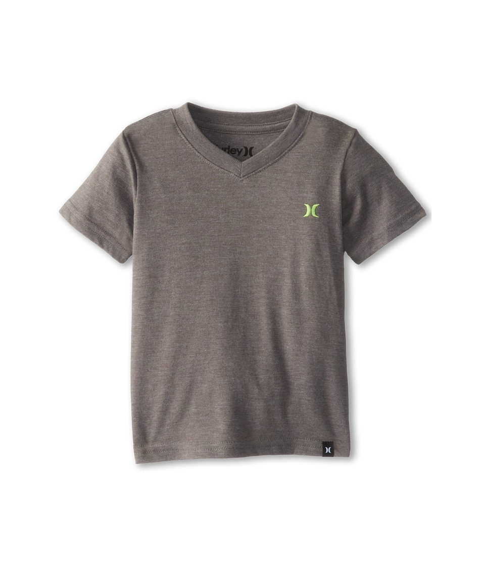 Hurley Kids Icon Premium Heather Tee Boys T Shirt (Gray)