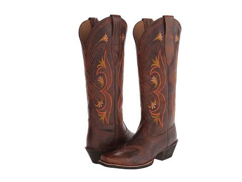 Ariat - Lantana (Sassy Brown) Cowboy Boots