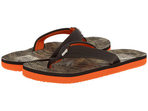 Reef Kids - Ahi (Infant/Toddler/Little Kid/Big Kid) (Palm Camo Brown) Boys Shoes