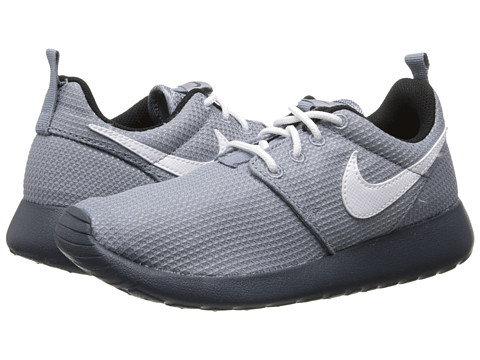 Nike Kids - Roshe Run (Little Kid/Big Kid) (Magnet Grey/Black/Dark Magnet Grey/White) Kids Shoes
