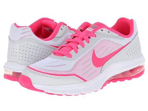 Nike Kids - Nike Air Maximize (Big Kid) (Pure Platinum/Hyper Pink/Hyper Jade/Metallic Silver) Girls Shoes