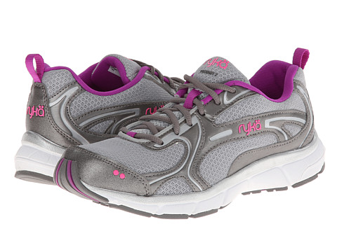 Ryka - Prodigy 2 (Chrome Silver/Metallic Steel Grey/Sugar Plum/Atomic Pink) Women's Running Shoes