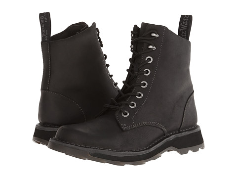 Dr. Martens - Neil Lace Boot (Black Wyoming) Men's Lace-up Boots