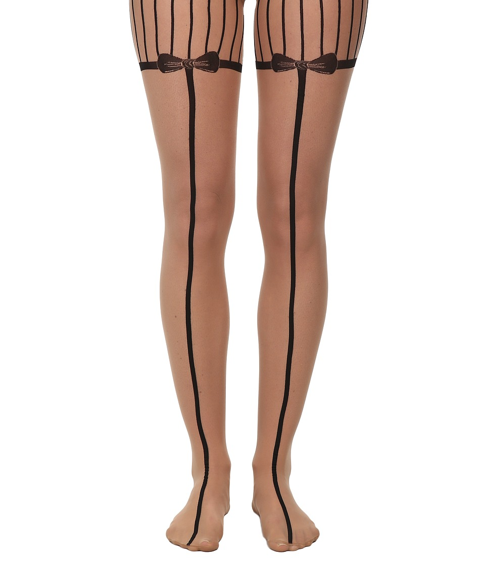 Wolford - Linnea Tights (Sahara/Black) Hose