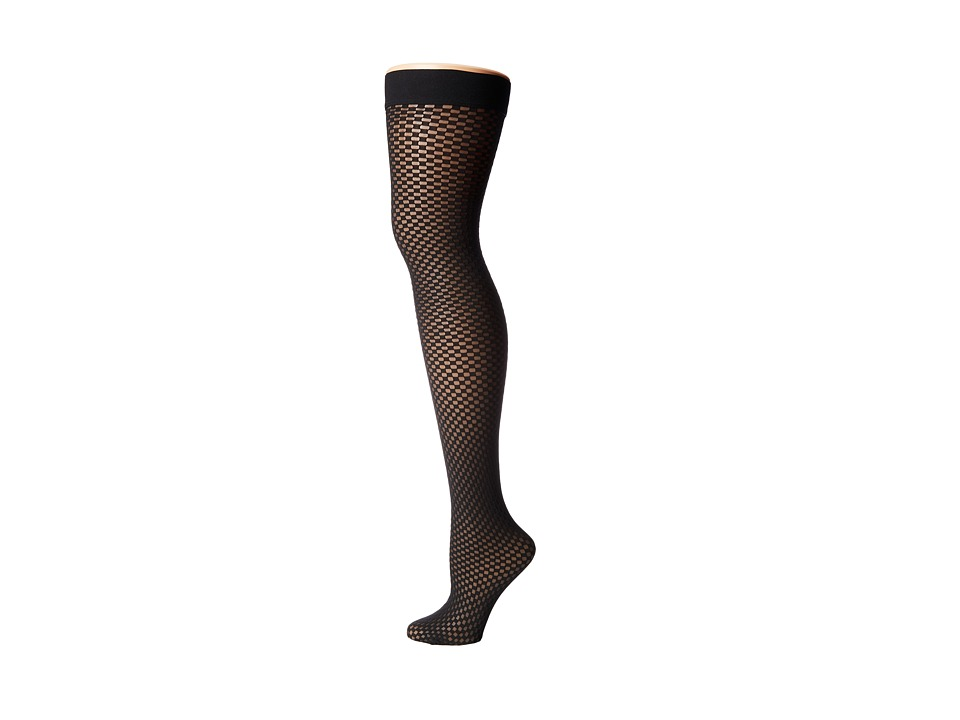 Wolford - Niki Stay-Up (Black/Black) Hose
