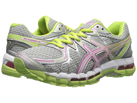 ASICS - Gel-Kayano 20 (Titanium/White/Sharp) Women's Running Shoes