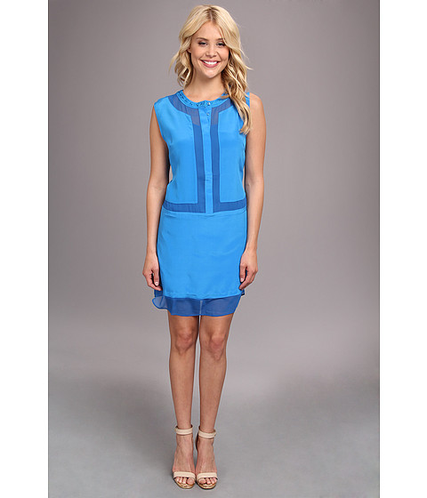 Aryn K - Shift Dress (Lagune) Women's Dress