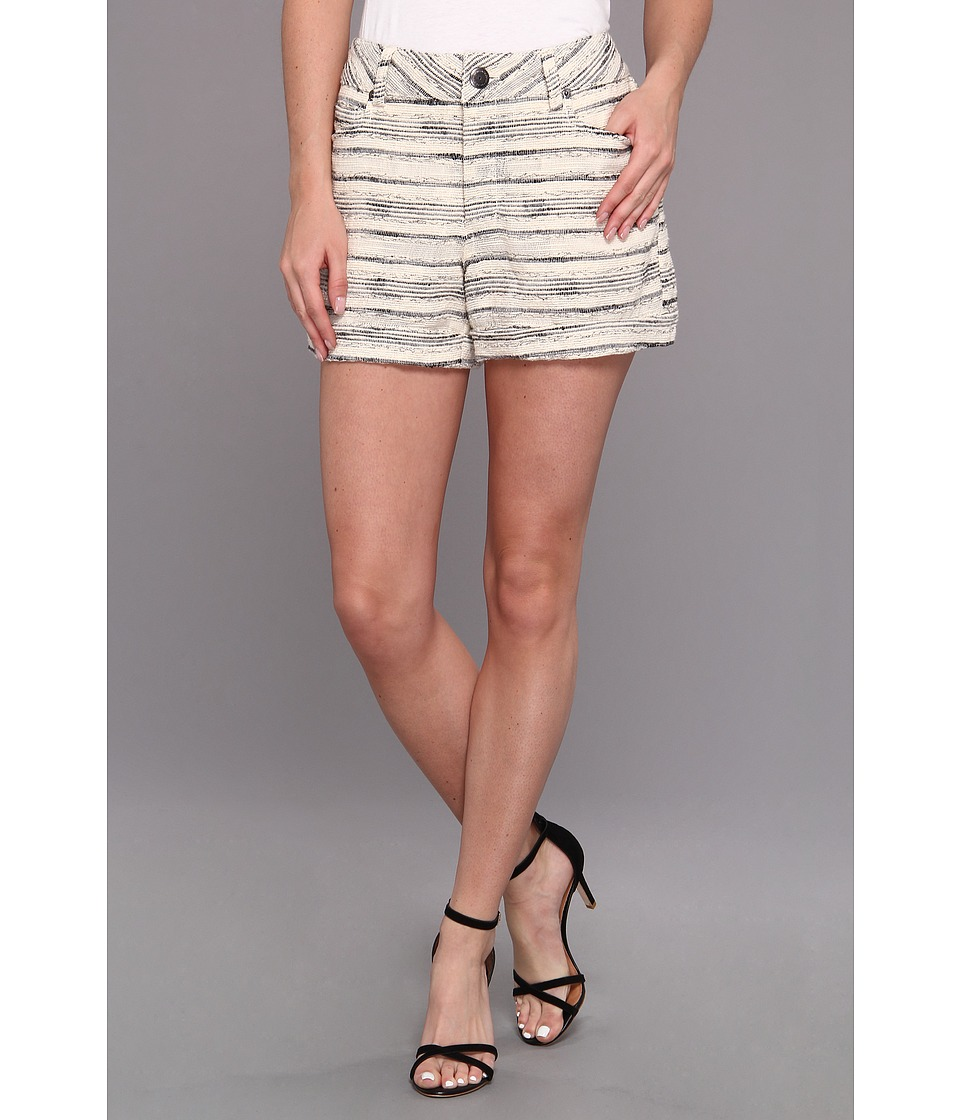 BCBGeneration - Woven Short (Cream Multi) Women