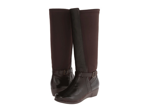 Fitzwell - Greatest (Brown Leather/Stretch Gore) Women's Pull-on Boots
